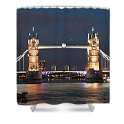 Tower Bridge Shower Curtain