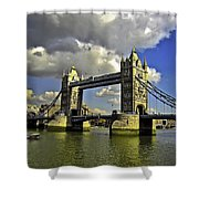 Tower Bridge I Shower Curtain