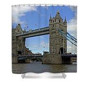 Tower Bridge Shower Curtain