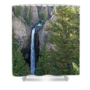 Tower Falls Shower Curtain