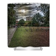 Tower Gardens Shower Curtain