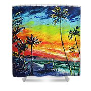 Tower Life 2 Shower Curtain