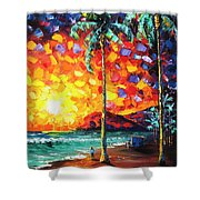 Tower Life 4 Shower Curtain