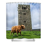 Tower Of Joy Shower Curtain