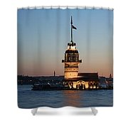 Tower Of Leander Shower Curtain