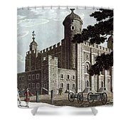 Tower Of London, 1799 Shower Curtain
