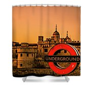 Tower Of London. Shower Curtain