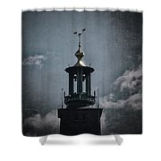 Tower Of Stadshuset  Shower Curtain