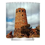 Tower Of Stone Shower Curtain