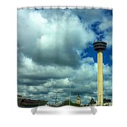 Tower Of The Americas Scene Shower Curtain