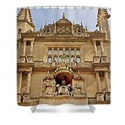 Tower Of The Five Orders Bodleian Library Oxford Shower Curtain