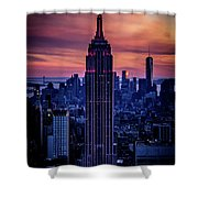 Tower Of Towers Shower Curtain