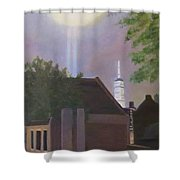 Tower One Shower Curtain