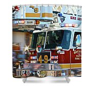 Tower Shower Curtain
