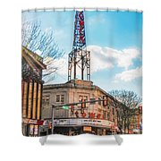 Tower Theater - Upper Darby Pa Shower Curtain