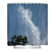 Towering Cloud Shower Curtain