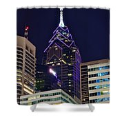 Towering Over Philly Shower Curtain