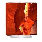 Towering Walls Of Antelope Canyon Shower Curtain