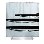Towers As Art Shower Curtain