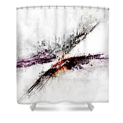 Towers Shower Curtain