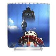 Towers Of London Shower Curtain