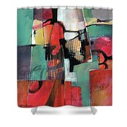 Town And Country Shower Curtain