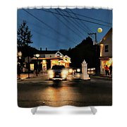 Route 9 Shower Curtain