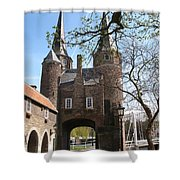 Town Gate - Delft Shower Curtain