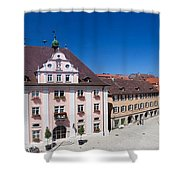 Town Hall And St. Martin Cathedral Shower Curtain