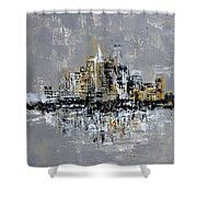Town Line Shower Curtain