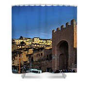 Town Of Assisi, Italy Shower Curtain