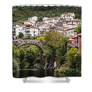 Town Of Avo Shower Curtain