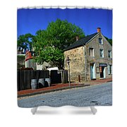 Town Of Harpers Ferry Shower Curtain