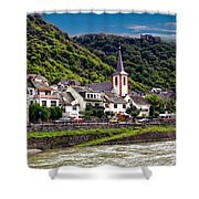 Town Of Kestert Shower Curtain