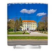 Town Of Ludbreg Square View Shower Curtain