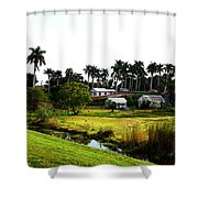 Town Of Pahokee Shower Curtain