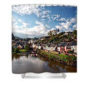 Town Of Saarburg Shower Curtain