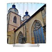 Town Parish Church Shower Curtain