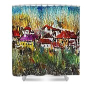 Town To Country Shower Curtain