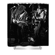 Toy And Tommy At Winterland 1976 Shower Curtain