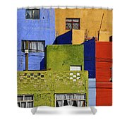 Toy Box Shower Curtain