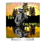 Toy Caldwell At Amber Lake 2 Shower Curtain