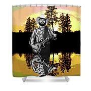 Toy Caldwell At Amber Lake Shower Curtain