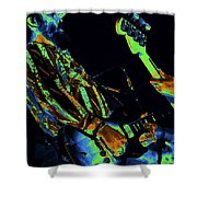 Toy Caldwell Jamming 2 Shower Curtain