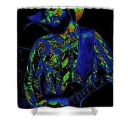 Toy Caldwell Jamming 3 Shower Curtain