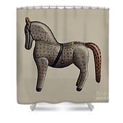 Toy Horse Shower Curtain
