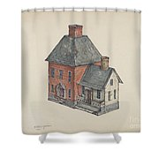 Toy House Shower Curtain