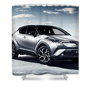 Toyota C-hr Shower Curtain