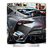 Toyota Ft-1 Concept Number 1 Shower Curtain