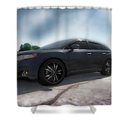 Toyota Venza_2011 Shower Curtain